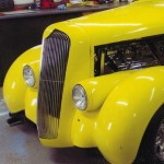 1936 Plymouth yellow